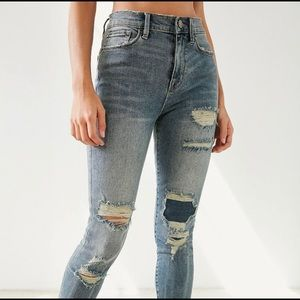 urban outfitters BDG twig high-rise cropped jean